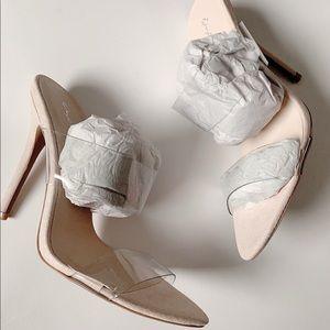 NIB Clear Heels